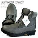 訳あり アウトレット ブーツ メンズ イエローブーツ ワークブーツ RICHARD SMITH 6インチ 4cm防水 靴 シューズ RS3159 グレー 灰