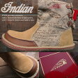 Indian インディアン ブーツ メンズ スニーカー メンズ ハイカットスニーカーシューズ 靴 くつ shoesベージュ/ブラウン【あす楽対応】【YDKG-k】【kb】【H-AC】■05130313