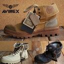 AVIREX 送料無料 SCORPION スコーピオン アビレックス ブーツ メンズ レディース 正規品 アヴィレックス 本革×キャンバス レザー AV3400 大きいサイズあり【1212sh】 【Y_KO】