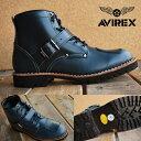 AVIREX 送料無料 アビレックス ブーツ メンズ レディース 正規品 アヴィレックス TIGER タイガー 本革ブーツ レザー AV2931 NAVY 新色 大きいサイズあり【1212sh】 【Y_KO】