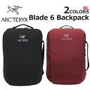 大決算セール開催中!3/11 1:59まで ARCTERYX アークテリクス Blade 6 Backpack ブレード 6 バックパックリュック リュックサック バッグ メンズ レディース 6L 16180プレゼント ギフト 通勤 通学 送料無料