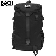 BACH バッハ ROC 22 ロック 22バックパック バッグ カバン 鞄 A3 22L 122001ブラック プレゼント ギフト 通勤 通学 送料無料
