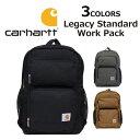 CARHARTT カーハート Legacy Standard Work Pack レガシースタンダードワークパック バックパック190321 リュックサック デイパック バッグ カバン 鞄メンズ レディース プレゼント ギフト 通勤 通学 送料無料