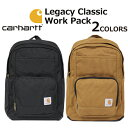 CARHARTT カーハート Legacy Classic Work Pack レガシー クラシックワークパック バックパックデイパック リュック リュックサック バッグ メンズ レディース B4 190325プレゼント ギフト 通勤 通学 送料無料