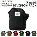 ショッピングtokia FREDRIK PACKERS フレドリックパッカーズ DIVISION PACK ディヴィジョン パックショルダーバッグ バッグ メンズ 2Lプレゼント ギフト 通勤 通学 送料無料