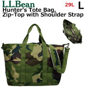 L.L. Bean エルエルビーン Hunter's Tote Bag, Zip-Top with Shoulder Strap Camo ハンターズトートバッグ ジップトップ ショルダー ストラップ L カモレディース メンズ 29L A3 502556プレゼント ギフト 通勤 通学 送料無料