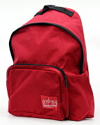 MANHATTAN PORTAGE/マンハッタンポーテージMP1210 RED BD バックパック/リュックサック/カバン/鞄 メンズ/レディースレッド プレゼント/ギフト/通勤/通学