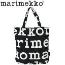marimekko マリメッコ Logo Notko ロゴ ノトゥコトートバッグ エコバッグ バッグ レディース A4 ブラック 47312プレゼント ギフト 通勤 通学 送料無料 父の日