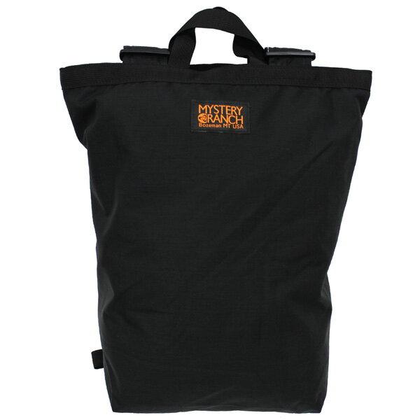 【送料無料/USA製】MYSTERY RANCH/ミステリーランチ Medium Booty Bag BLACK/ブーティバッグリュックサック/バックパック/2WAYトートバッグ/カバン/鞄メンズ