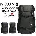 NIXON ニクソン Landlock III Backpa...