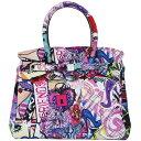 SAVE MY BAG セーブマイバッグ MISS ミス ハンドバッグレディース GRAFFITI グラフィティ マルチカラー 10204N...
