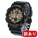 【訳あり】【BOXなし】【アウトレット】G-SHOCK カシオ Gショック CASIO 腕時計 メンズ Garish Color Series GA-140GB-1A1 ブラック×ゴールド