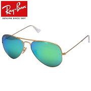 Ray-Ban/Rayban/レイバン サングラス/メンズ/レディースRB3025 112/19 58/AVIATOR/アビエーター/ティアドロップ/ゴールド プレゼント/ギフト/通勤/通学