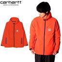Carhartt WIP カーハート WIP Softshell 20 jacket ソフトシェル 20 ジャケットブルゾン アウター メンズ オレンジ I028121プレゼント ギフト 通勤 通学 送料無料 母の日