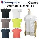 Champion チャンピオン VAPROP T-Shirt Tシャツカットソー ティーシャツ 半袖 レディース ロゴ刺繍 ワンポイント CWP S302ルームウェア 部屋着 プレゼント ギフト 通勤 通学 父の日