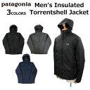 patagonia パタゴニア Men's Insulated Torrentshell Jacket メンズ インサレーテッド トレントシェル ジャケットマウンテンパーカー アウター ブルゾン 長袖 アウトドア メンズ レディース 83716プレゼント ギフト 通勤 通学 送料無料