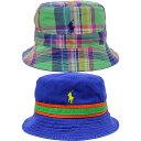 POLO RALPH LAUREN/ポロ ラルフローレンMAINE BE REVERSIBLE/リバーシブル/ポニー710-605933-002/バケットハット/帽子 メンズ/レディース プレゼント/ギフト/通勤/通学