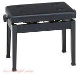 【its】ベストセラー標準ピアノ椅子!甲南Konan AW55-S(AW55S)黒色