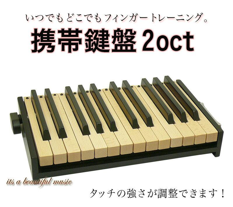 【its】いつでもどこでもフィンガートレーニング!「携帯鍵盤 2オクターブモデル」