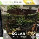ソーラー イルミネーション ライト LED 100球 12m 電源不要 電球色