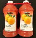 【送料無料】カークランド ルビーレッド グレープフルーツ ジュース 50%果汁 2.84L×2本