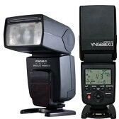 【正規品 純正品 3ヶ月保証】【二代目!!】 YN568EXII Canon or Nikon専用 Yongnuo製 Speedlight ラッシュスピードライト TTL機能搭載ストロボ!マスター機能搭載!  ゆうパック発送のみ 【安価商品】