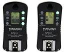 【RF603進化版!!】【正規品 純正品 3ヶ月保証】YONGNUO製 RF-605 C N CANON or Nikon Wireless Flash Trigger ワイヤレスフラッシュトリガー スピードライトトランスミッター デジタル一眼レフカメラ用 ゆうパック発送のみ