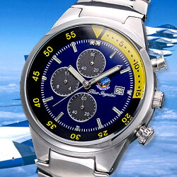 航空自衛隊ブルーインパルスクロノグラフ腕時計