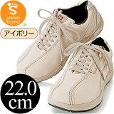 非常沃克 hybrid model 象牙22.0cm 步行鞋【】[すこぶるウォーカー ハイブリッドモデル アイボリー22.0cm ウォーキングシューズ【】]