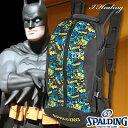 スポルディング ケイジャー バットマン BATMAN ブラックブルー バスケットボール収納バッグ SPALDING40-007BM【送料無料】【02P03Dec...
