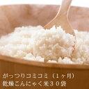 無農薬乾燥こんにゃく米30袋(1ヶ月分)送料手数料無料!話題の乾燥粒こんにゃくごはんこんにゃくダイエット米[マンナンヒカリではありません]【お客様還元期間中】【がっつり(1ヶ月)コミコミ】石井さんの乾燥こんにゃく米30袋 こんにゃくご飯で美味しくこんにゃくダイエット米【送料無料】【楽ギフ_包装】【あす楽】【smtb-T】