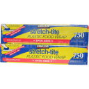 *2 ks food lap (231.03m in length X 30.16cm in width) set stretch-tite PLASTIC FOOD WRAP 750SQ.ft. [YDKG-f]