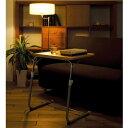 パソコン、読書に便利なサイドテーブル ソファサイドテーブル ナイトテーブル ベッドサイドテーブル 昇降テーブル 昇降式テーブル フォールディングテーブル 3段階で角度調節ができます 使わないときは簡単に折りたたみ可能♪【代引き不可】