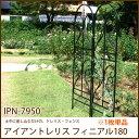 ガーデニング フェンス アイアントレリス フィニアル180 (IPN-7950)ガーデンフェンス ジョイント アイアン 柵 庭 エクステリア トレリス・フェンス 園芸 花壇