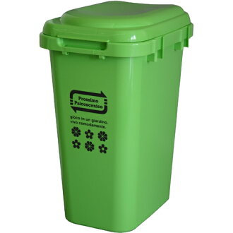 High-capacity waste bin ジョイントペール 45L green 05P24jul13fs3gm