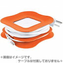 [P]Cable manager orange [fs01gm] [RCP] spr05P05Apr13fs2gm [marathon201305_daily] for exclusive use of the Quirky PowerCurl power curl 85W MagSafe power supply adapter
