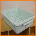 Antibacterial processing plastic dish drainer basket L product size 42cm in depth X width 33* higher 13cm[fs01gm] [RCP] spr05P05Apr13fs2gm [marathon201305_daily]
