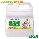 ライオン 業務用 薬用 キレイキレイせいけつボディーソープ4L 大容量 汗をかく季節に!やさしく、さっぱりサラサラに洗い上げます。