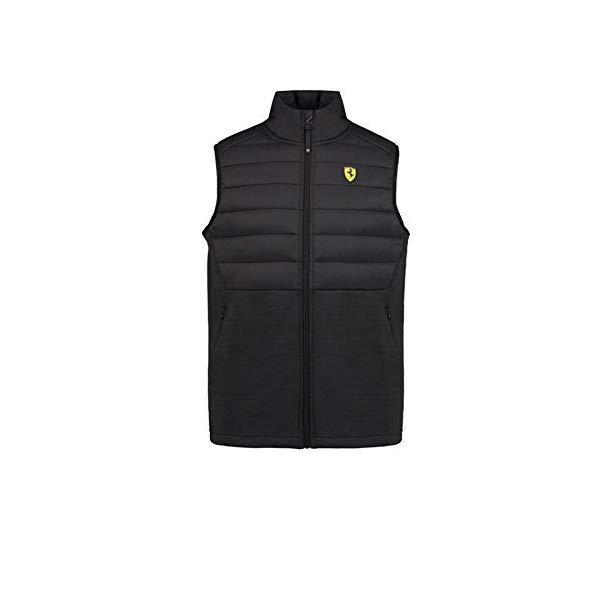 Ferrari Black Logo Vest