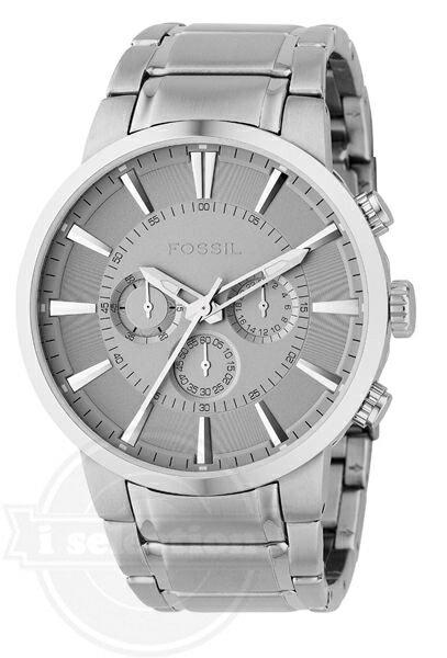 【Fossil フォッシル クロノグラフ メンズ 腕時計 FS4359 Stainless Steel Bracelet Silver Analog Dial Chronograph Watch】 【円高還元!送料無料対象商品】 時計 腕時計 ブランド