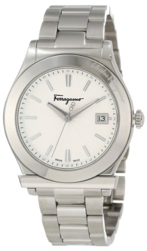 フェラガモ メンズ 腕時計 Ferragamo Men's F62LBQ9902 S099 Ferragamo 1898 Stainless Steel Date Watch 10000円以上で送料無料