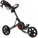 クリックギア セルフ ゴルフカート 3.5+ チャコール・ブラック Clicgear Model 3.5+ Golf Cart, Charcoal/Black