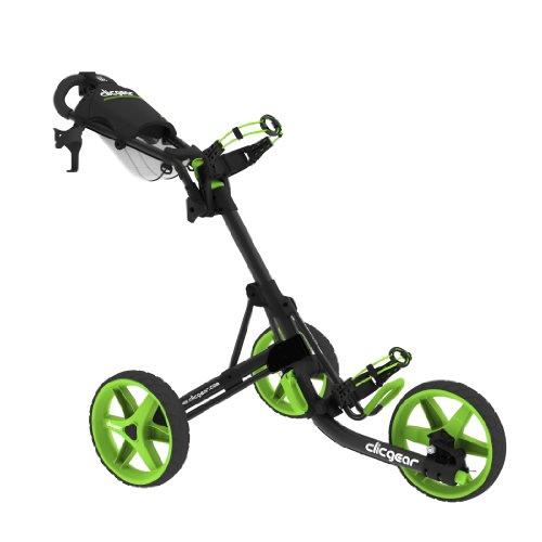 クリックギア セルフ ゴルフカート 3.5+  チャコール・ライム Clicgear Model 3.5+ Golf Cart, Charcoal/Lime 10000円以上で送料無料