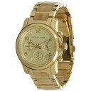 Michael Kors マイケルコース レディース腕時計 Gold Plated Chronograph Women's Watch - MK5660
