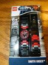 Lego 9004292 レゴ スターウォーズ ダースベイダー キッズ腕時計 Star Wars Darth Vader Mini-Figure Link Kids Watch