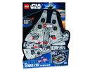 LEGO レゴ スターウォーズ ミレニアムファルコン ミニフィギュアケース Star Wars ZipBin Millennium Falcon Minifigure Case