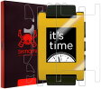 Skinomi TechSkin スキノミ テックスキン スマートウォッチ スクリーンプロテクター Pebble E-Paper Smartwatch Screen Protector Ultra Clear Shield + Full Body Protective Skin + Lifetime Warranty