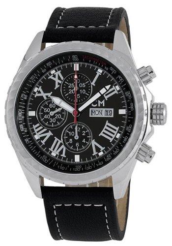 Carlo Monti カルロ モンティ メンズ 腕時計 Gents Automatic Chronograph Viareggio CM112-122 10000円以上で送料無料