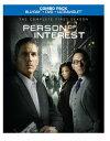 Person of Interest パーソン・オブ・インタレスト 犯罪予知ユニット The Complete First Season ブルーレイ 北米版