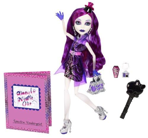 Monster High モンスターハイ フィギュア Ghouls Night Out Doll Spectra スペクトラ Vondergeist